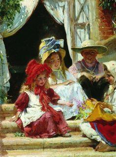 Konstantin Makovsky  - Children