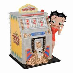 Betty Boop Slot Machine Cookie Jar. #collectiblecookiejar