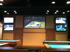 Fox and Hound Bar & Grill in Cleveland, OH: There are several large screen HD TVs for watching all of the games. There are also 3 different rooms for 3 different game sound. There is a full menu and full bar open 11 am until 2 am! Find more places to watch the World Cup in the USA: http://pin.it/AeGWA1a