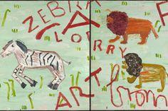 "Rose Wylie's 'Lorry Art', ""a daub worthy of a child of four"""