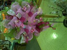 Easter Geo Mesh wreath!