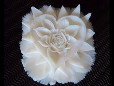 Carving handmade soap - carving soap - Thai art - YouTube