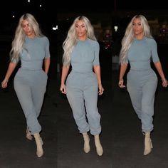 Kim Kardashian Wearing YEEZY SEASON 6 Clothing | HYPEBEAST
