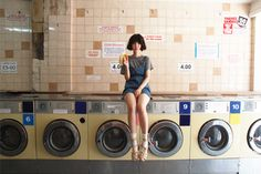 Laundry day-chic.