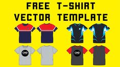 Free t shirt vector template Page Layout, Apparel Design, Design Tutorials, 3 D, Templates, T Shirt, Fashion Design, Free, Supreme T Shirt