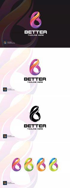 Better / Letter B - Logo Template AI, EPS