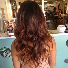 Ideas Hair Color Balayage Red Products For 2019 Hair Color Balayage, Hair Highlights, Balayage Hair Auburn, Copper Balayage Brunette, Brown Hair Copper Highlights, Copper Bayalage, Red Brunette Hair, Balayage Ombre, Balayage Hairstyle