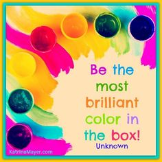 Color quote via www.KatrinaMayer.com
