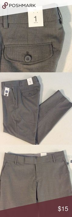 GAP GRAY ANKLE PANTS GAP Gray Ankle Pants ➖ 64% Poly 34% Viscose 2% Spandex GAP Pants Ankle & Cropped