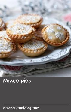 Mince pies |      This crumbly, fruity mince pie recipe is a Christmas classic. Serve warm with lashings of brandy butter.