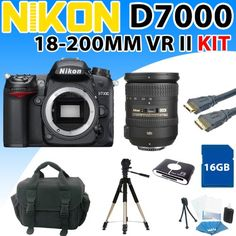 Nikon D7000 D-7000 Digital SLR Camera with Nikon Af-s Dx Nikkor 18-200mm F/3.5-5.6g Ed Vr Ii Zoom Lens and Premium 16gb Deluxe Kit - http://slrscameras.everythingreviews.net/8030/nikon-d7000-d-7000-digital-slr-camera-with-nikon-af-s-dx-nikkor-18-200mm-f3-5-5-6g-ed-vr-ii-zoom-lens-and-premium-16gb-deluxe-kit.html