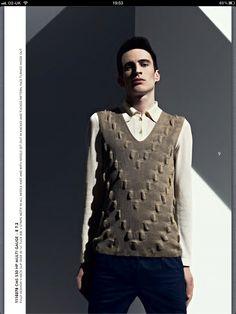 Stoll knitwear trends SS13. Men