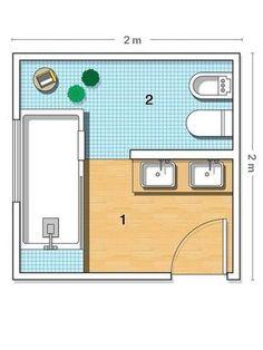 Plano del baño