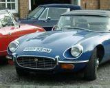 Photo of UK registration number plate RGD555M / RGD 555M: Jaguar E-Type V12 Convertible (1974). http://platewave.com