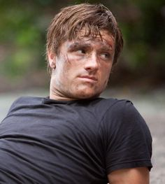Josh Hutcherson in The Hunger Games! Best movie ever and I am not just saying that because Josh Hutcherson is in it!