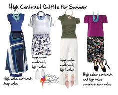"""high contrast outfits for summer"" by imogenl ❤ liked on Polyvore featuring Roland Mouret, Velvet by Graham & Spencer, Bailey 44, M&Co, Dorothy Perkins, Burberry, MSGM, Fairchild Baldwin, Golden Goose and Oscar de la Renta"