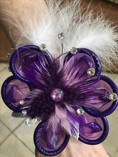 Awesome corsage I just Created! Check it out! SO sparkly!!!
