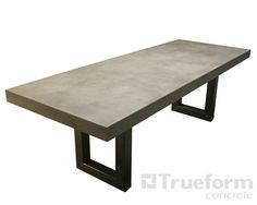 Concrete Dining Table UK dining table Pinterest Concrete