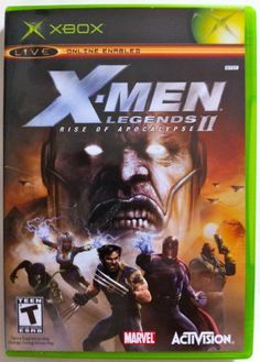 X Men Legends 2 Rise Of Apocalypse X Men Xbox Apocalypse