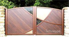 Grill Gate Design, House Main Gates Design, Steel Gate Design, Front Gate Design, Door Gate Design, Wooden Door Design, Metal Gates, Wooden Gates, Iron Gates