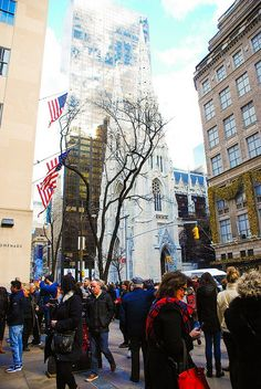 4.  Saint Patrick's Cathedral Saint Patrick's Cathedral is another popular attraction in NYC that attracts millions of people each year.