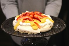 As Minhas Receitas: Sobremesas - Pavlova de Limão