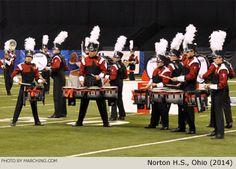 Norton High School Marching Band, Ohio, 2014