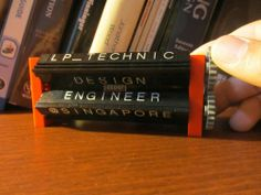 LEGO / Technic Name Plate with Hidden Message