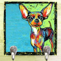 NEW Chihuahua Leash Hook van snicklenfritz op Etsy, $30.00