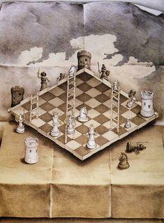 The man, the legend… MC Escher. Droste Effect, Martin Munkacsi, London Poster, Horror Posters, Mc Escher, Illusion Art, Optical Illusions, Chess, Art Pictures