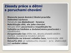 Výsledek obrázku pro pravidla chování ve škole Play To Learn, Adhd, Kids And Parenting, Behavior, Psychology, Communication, Classroom, Teacher, Education