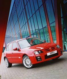 2004 MG ZR. Rio Red.