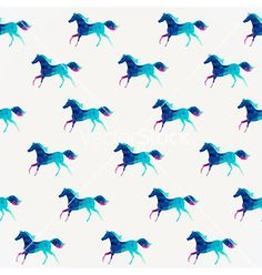 Horse seamless pattern triangle horse abstract vector by Markovka on VectorStock®