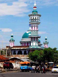 Mosque in Mataram, Lombok, Indonesia