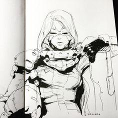 Sketch by Maciej KuciaraMore Characters here.