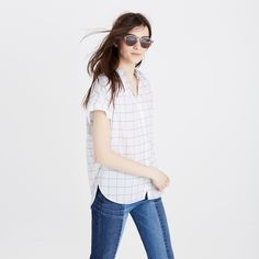 cbd97d3914a Central Shirt in Pure White
