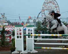 Frankford (Sussex County) - The Sussex County Horse and Farm Show had its start in 1940.  While typical fair offerings can be found, the horse show remains an important part of the annual event.