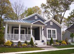 modular home design photos bestofhouse grey housing homes Best Modular Homes, Modular Home Plans, Custom Modular Homes, Prefabricated Houses, Prefab Homes, Remodeling Mobile Homes, Home Remodeling, Manufactured Home Prices, Manufactured Housing