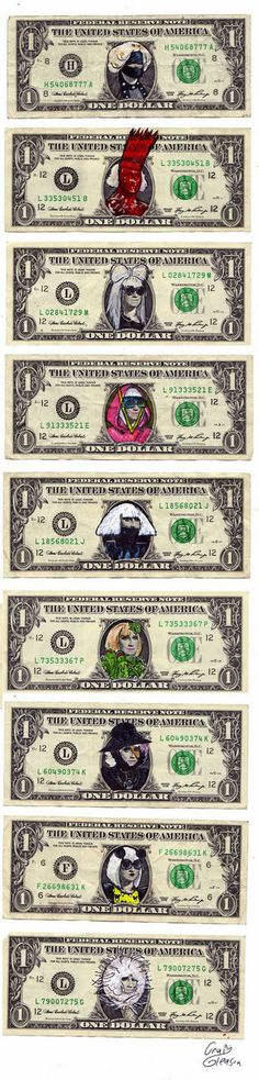 $omeday soon all of our currency will look like this. Happy Birthday Gaga! #gagacash