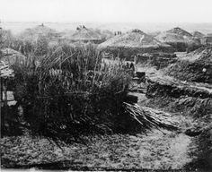 Pawnee Indian village, circa 1867 Native American Photos, Native American Indians, Native Americans, North American Beaver, Missouri, House Under Construction, Native Place, Indian Village, Beaver Creek