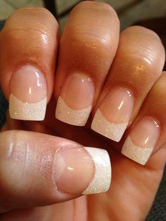 Fun sparkle manicure!