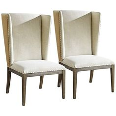 Bring the ultimate chic and stylish accent piece into your home with this transitional host side chair.