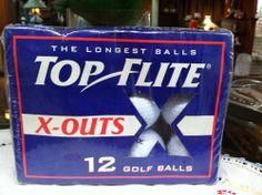 Top Elite 12 Golf Balls The Longest Balls X-Outs