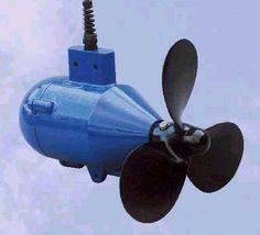 Aquair Underwater Power Generator