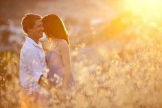 sunset engagement photography ideas