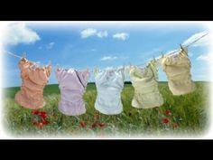 Pañales de tela, solución líquida para toallitas y pomada anti-rozaduras!