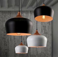 81.29$  Buy here - http://ali1aq.worldwells.pw/go.php?t=32360387918 - Modern Dinning Room Pendant Lights Fixtures Wood Aluminum Lamp For Restaurant Living Room Coffee Bar Hanglamp E27 LED Hanging
