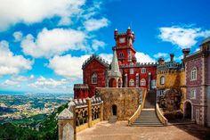 #Sintra #castle #Portugal @Bonnie Hebert by Carolina Costa