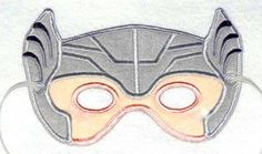 Thor  Felt Mask - Dress Up - Pretend Play - Play Therapy