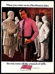 201fa0f8954cee 1968 Van Heusen  Clothing  Vintage  PRINT  AD Men s  Fashion Wear   PinkShirt  1960s  VanHeusen